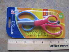 Scissors for kids 2 pairs Westcott red and blue blunt tip