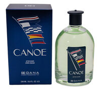 Canoe by Dana 8.0 oz Aftershave for Men New In Box
