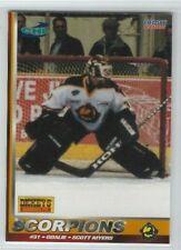 Scott Myers (goalie) 2001-02 New Mexico Scorpions (CHL)