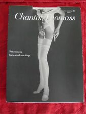 Vintage   neufs Bas plumetis Satin Stitch Stockings Chantal Thomass T 2  Blanc 948afd2d7d3