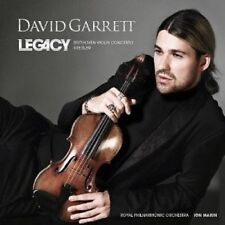 DAVID GARRETT - LEGACY  CD 10 TRACKS NEU