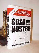 MAFIA - John Dickie: COSA NOSTRA 2005 Laterza Storia Sicilia Falcone Borsellino