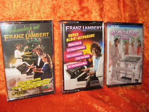 WERSI ORGAN ARTIST FRANZ LAMBERT SET OF 3 CASSETTES FROM 1980'S