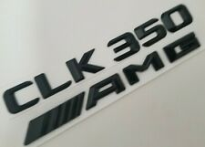 Chrome Rear Trunk Emblem Badge Stickers For Benz CLK63 AMG CLK350 CLK500 CLK280