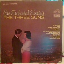 THE THREE SUNS - 4 RECORD LOT - FREE SHIPPING - SEE DESCRIPTION