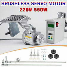 550W Energy Save Brushless Servo Motor Industrial Sewing Machine 4500R/Min UK