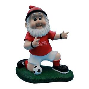 CMON United Colours Football Fan Celebration Manchester Garden Gnome