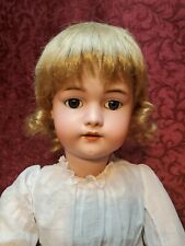 Antique German Bisque Head Doll Simon Halbig 1079 LIFE SIZE 29 inches Nice