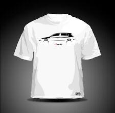 "EAKS® Herren T-Shirt ""I LOVE MY MK 5"" weiß Golf-Fahrer GTI-Fahrer R32-Fahrer"