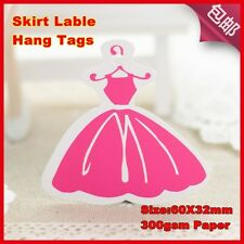 500pcs,lady dress hang tags.good for girl clothes fee shipping,clothes tags