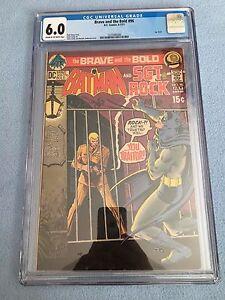 Brave and the Bold #96 (Jun-Jul 1971, DC) CGC 6.0 Batman & Sgt. Rock