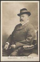 H.M. King Edward VII - Vintage Rotary Photo Postcard