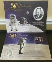 2019 Apollo 11 50th Anniversary Engraved Prints: Eagle Has Landed & Giant Leap