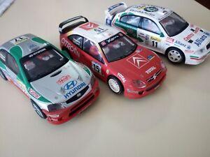 1/32 SCX WRC -CITROEN XSARA - HYUNDAI ACCENT - SKODA OCTAVIA