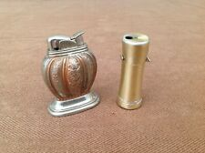 2 Lighters, Evans Table Lighter & Ronson Butane Varaflame