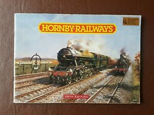 Hornby railways catalogue 39th edition 1993.