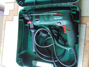 BOSCH PBH 2100 RE 220V - 240V  550W USED SDS ROTARY HAMMER DRILL. 3 MODES.