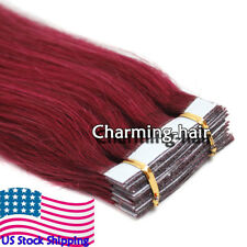 Invisible Seamless Tape in Skin Weft Indian Real Remy Human Hair Extensions 7A
