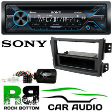 Vauxhall Agila 2007 On Sony MEX-N4200BT Bluetooth Car Stereo & Steering Kit