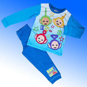 Boys Teletubbies Pyjamas Official Age 12 Months 1 2 3 4  Years