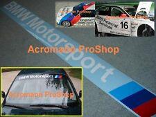 """36""""91.4cm BMW Motorsport Windshield Decal Sticker F32 F30 E90 E46 E36 E60 E63 X1"""