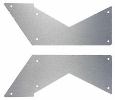 Aluminum Axial Wraith Half Side Panel Set