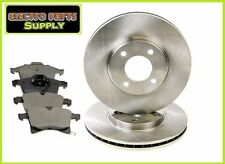New Corolla 98-02 Front Brake Disc & Pads Set Combo
