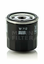 Oil Filter W712 Mann 7884256 7965051 7973235 7973429 7984256 Quality Guaranteed