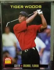 Tiger Woods card Sports Illustrated for Kids #860