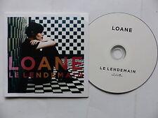 CD  album promo 11 titres LOANE Le lendemain ( un titre avec CHRISTOPHE )