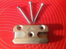 Roto 482340 Sicherheits-Schließblech Pilzkopf inkl. 3 Schrauben