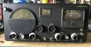 Hallicrafters S-76 Radio Communications Receiver Recently Refurbished