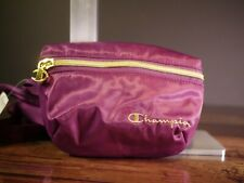 Champion small waist pack sample dark purple waist shoulder fanny bag NEW