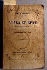 CHATEAUBRIAND. Atala. René. Abencerage. Poèmes. Etc. Gennequin. 1859