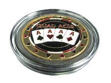 Casino Poker Card Guard Cover Protector Quad Aces
