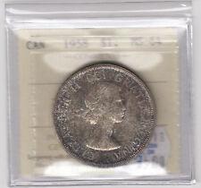 1958 Canada Silver Dollar - ICCS MS-64 Cert#XMG053