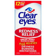 Clear Eyes Regular Strength Redness Relief Eye Drops 0.5 Fl. Oz