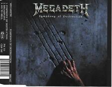 MEGADETH - Symphony of destruction CDM 3TR Hevay Metal 1992 CAPITOL HOLLAND