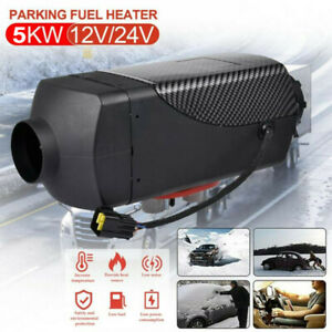 12V 5KW 5000W Auto Diesel-Heizung Standheizung Luftheizung Air Heater LKW LCD