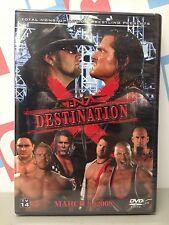 TNA Impact Wrestling Destination X 2008 08 DVD Kurt Angle Samoa Joe Kevin Nash