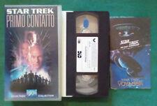 VHS FILM Ita Fantascienza STAR TREK Primo Contatto VIII CIC VIDEO no dvd(VH85)