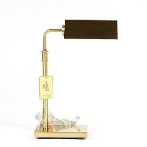 Ralph Lauren Home Modern Agatha O Banker Pharmacy Desk Table Gold Bronze Lamp