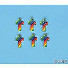Rainbow Crosses ENAMEL CHARMS (SET 6)