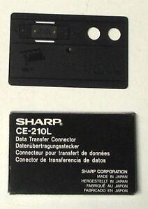 SHARP CE-210L - Data Transfer Connector NEW