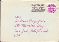 Austria - 1984 - 1.20 Schilling Red Lilac Building Issue Single Value Cover #694