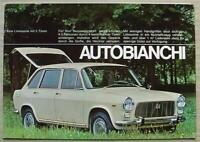 AUTOBIANCHI PRIMULA Car Sales Brochure c1968 GERMAN TEXT #UP6702 COUPE & 5 DOOR
