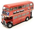 Aec Regent III Rt United Kingdom Double Decker Bus 1947-79 Red 1:43 Ixo-Atlas