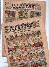Le Petit illustré - 1925-1926. Lot de 48 numéros en bel état n°1056/1159