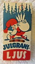 Vintage Box Candles Swedish Angel Chimes CHRISTMAS JULGRANS GNOMES GRT GRAPHICS