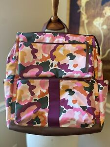 fossil backpack in pink floral camo